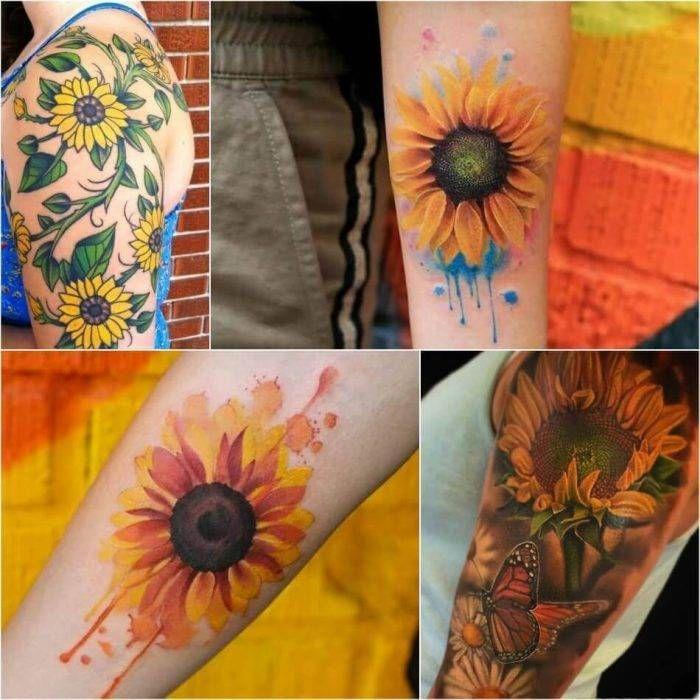 Photo of Sonnenblume Tattoo Bedeutung – Beliebte Sonnenblume Tattoo Ideen für Frauen und…