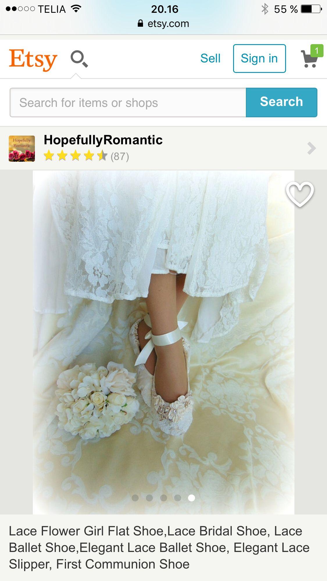 Wedding Ballet flats etsy https://www.etsy.com/dk-en/listing/230542551/lace-flower-girl-flat-shoelace-bridal