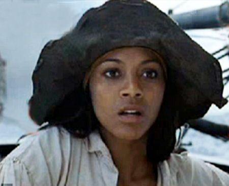 Anamaria Pirates Of The Caribbean Zoe Saldana In Pirates