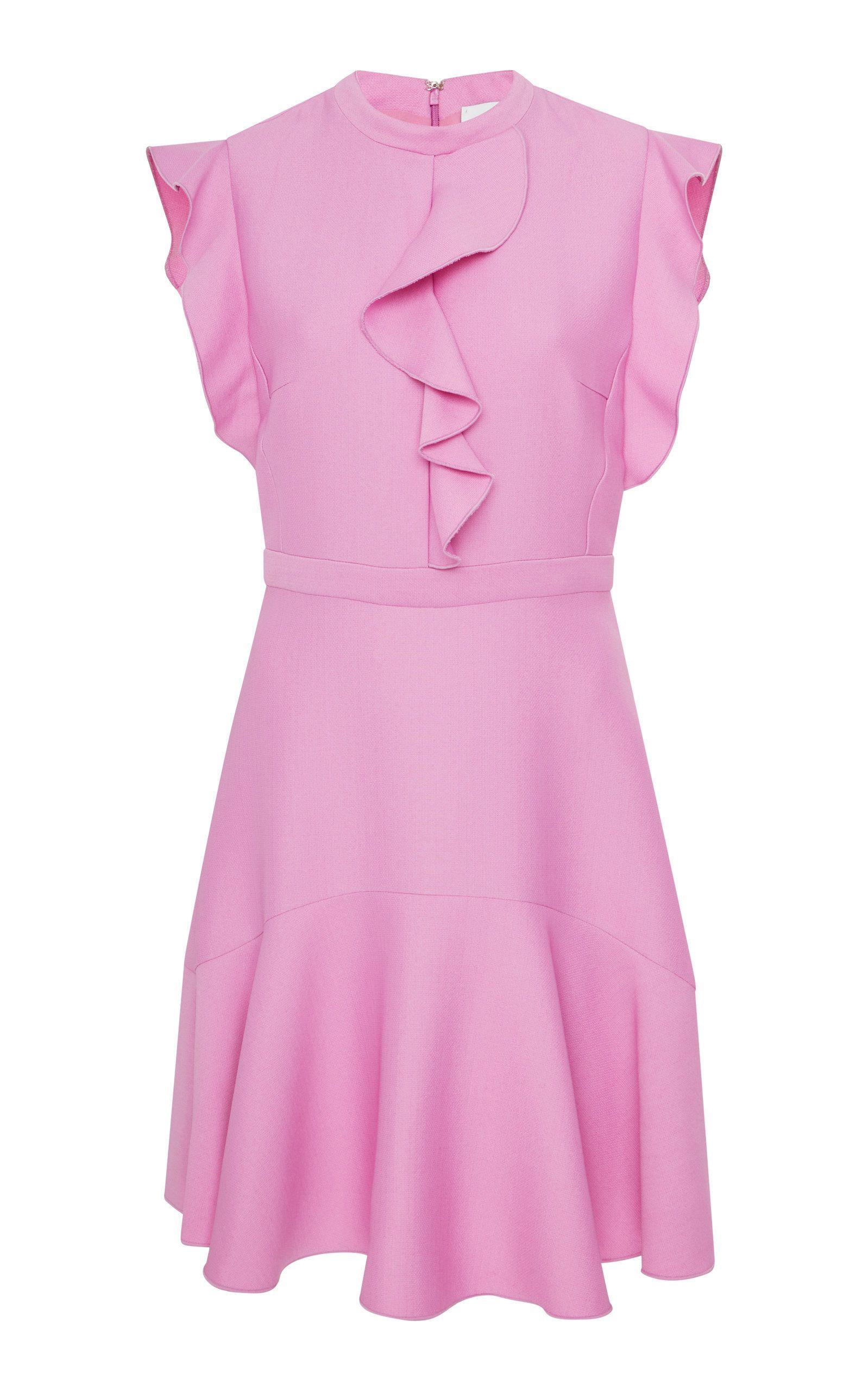 Ruffle mini dress in moraa pinterest dresses