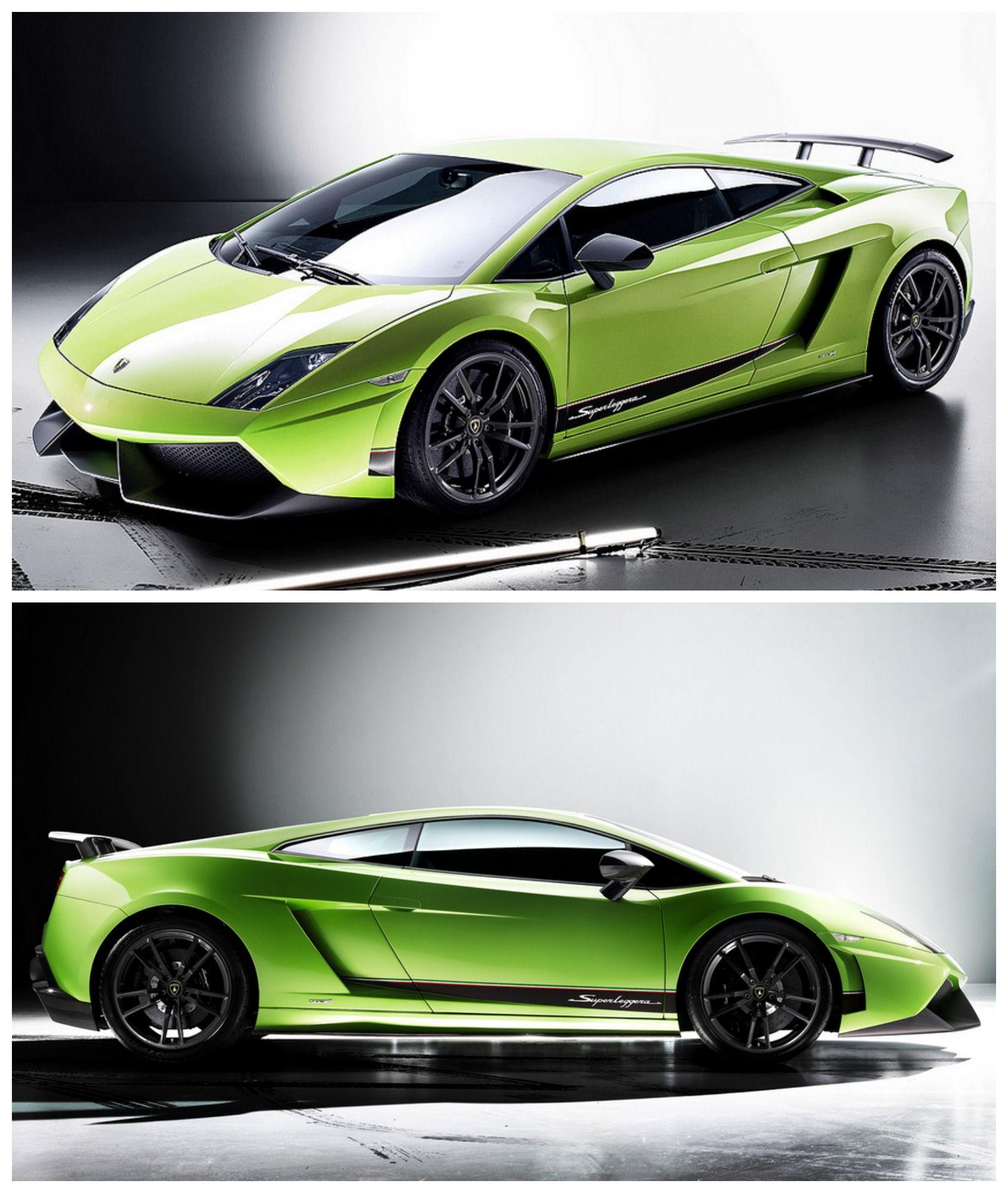 Insane Green Lamborghini Gallardo Superleggera