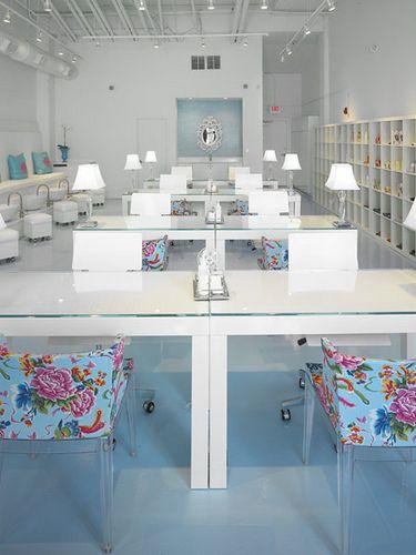 Polished Beauty Lounge Habachy Designs Interior Design Nail