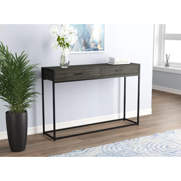 Grantley 48 Console Table Rustic Console Tables Console Table Wood Console Table