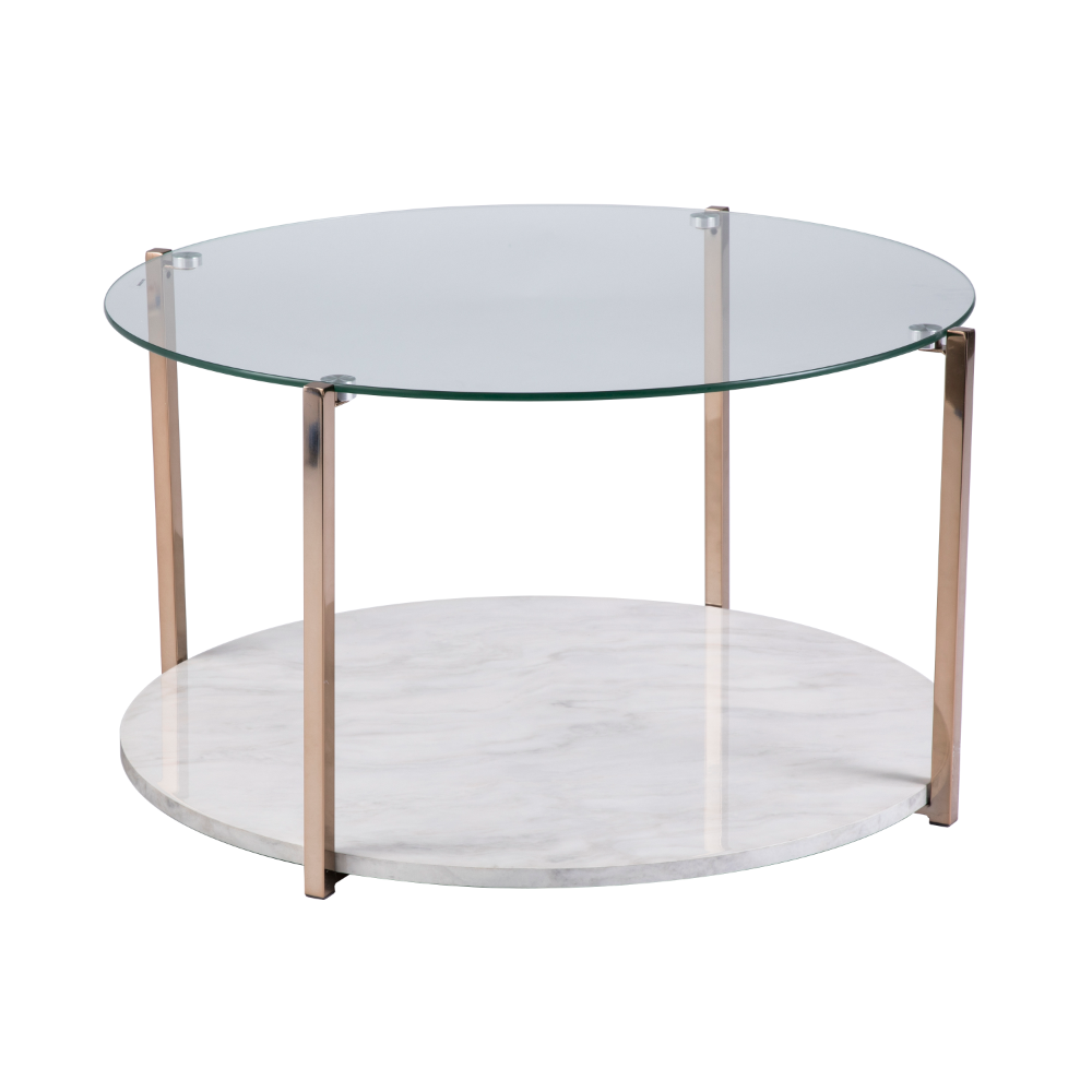 Addoria Cocktail Table Glam Style Warm Gold By Ember Interiors Walmart Com Walmart Com Coffee Table Glass Coffee Table Glass Top Coffee Table [ 1000 x 1000 Pixel ]