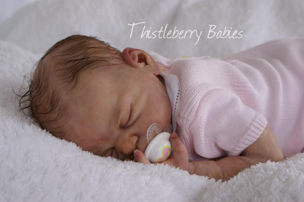 Thistleberry Babies Full Body Solid Silicone Baby Girl ...