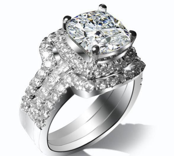 Find The Hot Bridal Set Wedding Ring 3 Carat In Key Rings Section Of