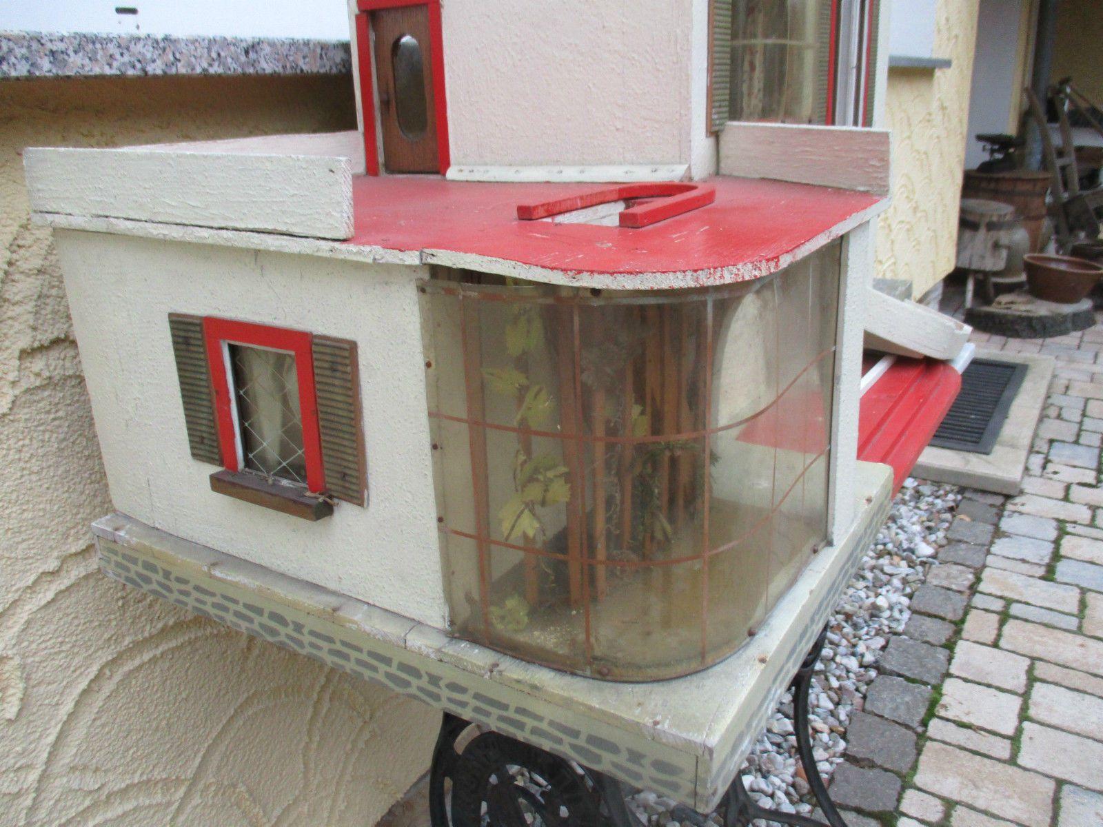 Details zu altes DDR Albin Schönherr Puppenhaus zum Herrichten ...