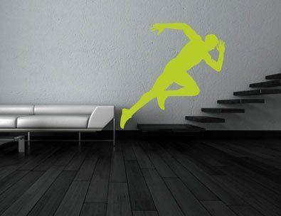 """Dieses sportliche Motiv animiert jede """"Couch-Potato"""". Denn wie sagte Goethe schon """"Besser laufen als faulen."""""""