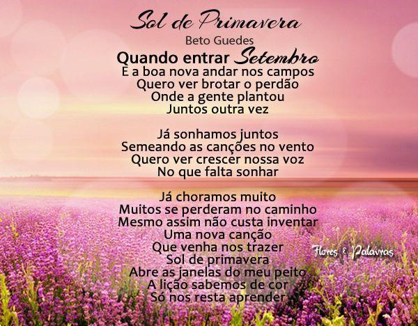 85f937afd sol de primavera - beto guedes   Cante/Sing It   Sol de primavera ...