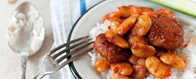 Chicken Patties & Lima Beans In Harissa Sauce — NYSHUK