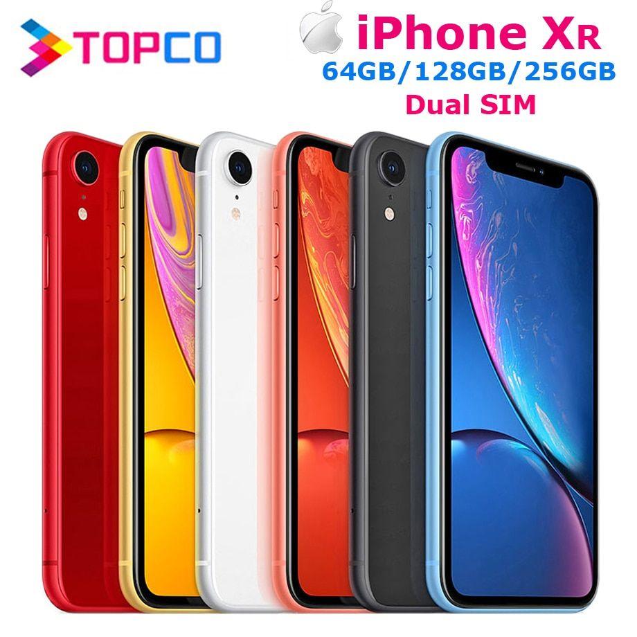 Apple iphone xr factory unlocked original mobile phone