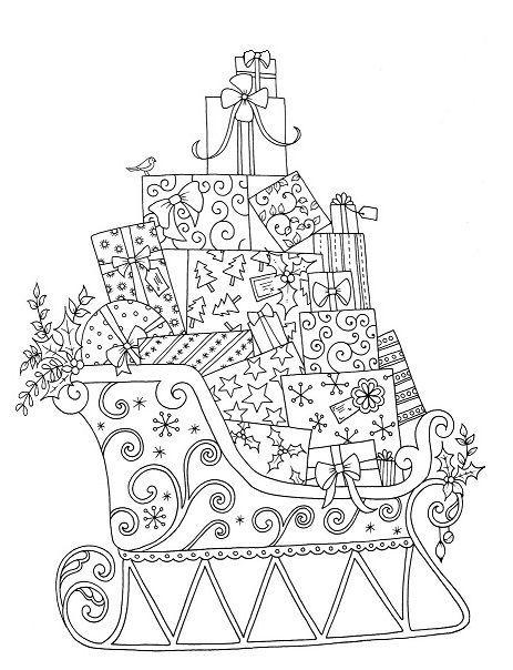 adult coloring   weihnachtsmalvorlagen, ausmalbilder