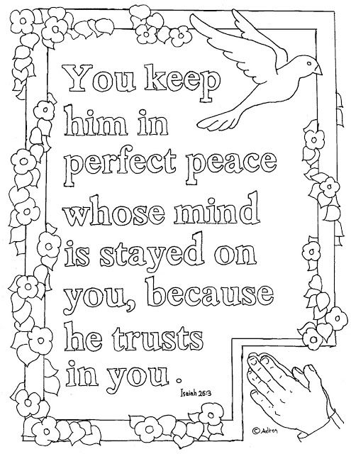 Coloring Pages For Kids By Mr Adron Printable Isaiah  Coloring Page