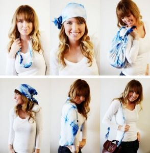 50 ways to wear a scarf scarves so many looks pinterest 50 ways to wear a scarf ccuart Images