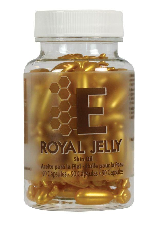 Skin Oil Capsules Con Vitamina E Y Royal Jelly La Jalea Real Con Su Insuperable Acción Antioxidante Y Regeneradora Posee La Capacidad De C Oils Capsule Jelly