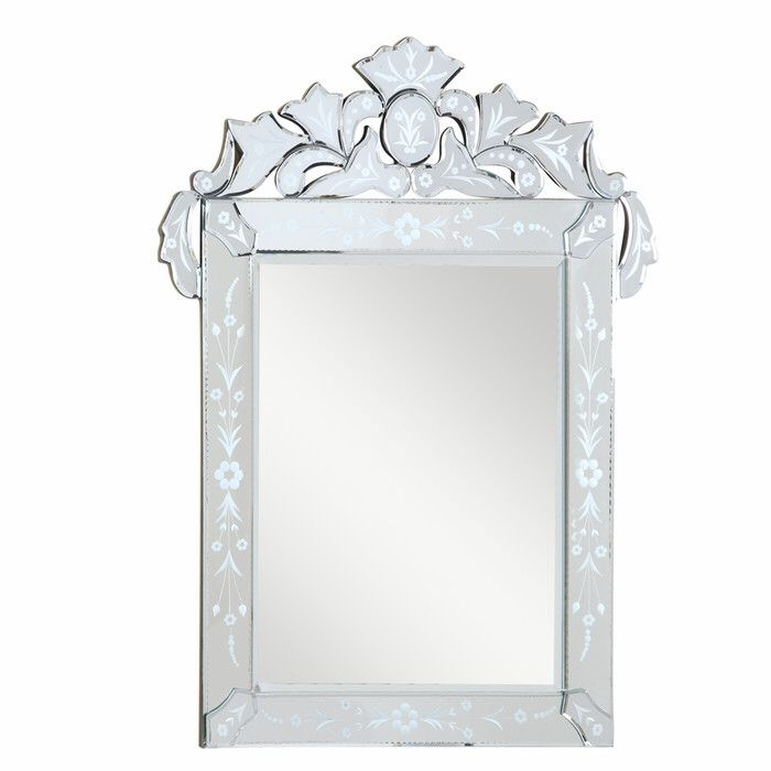 Venetian Glam Beveled Venetian Accent Wall Mirror Transitional Mirrors Home Decor Mirrors Mirror