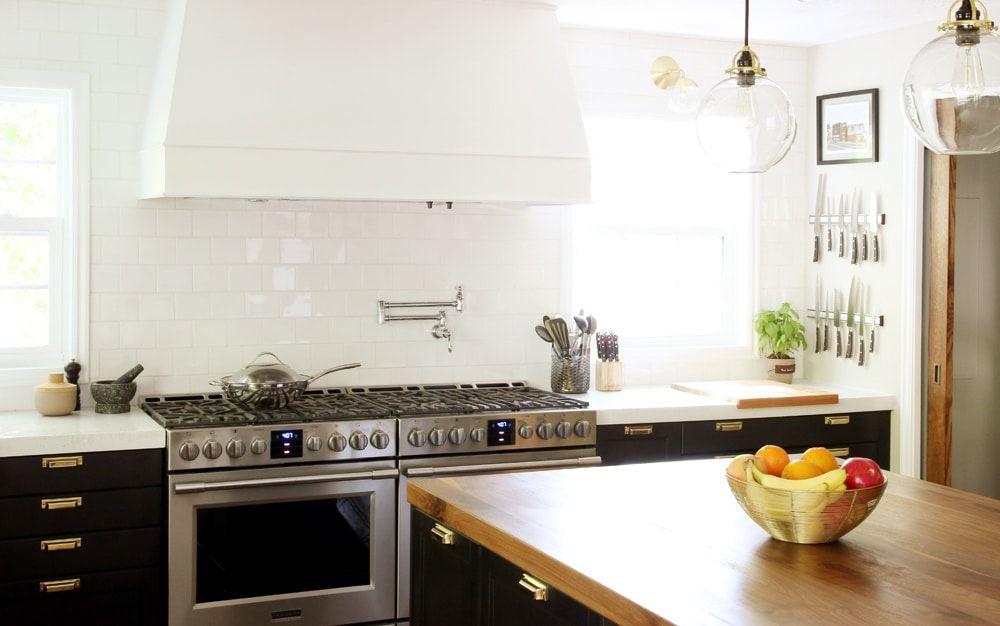 It\u0027s Done!  The Full Kitchen Reveal Kitchen Pinterest - dunstabzugshaube kleine küche