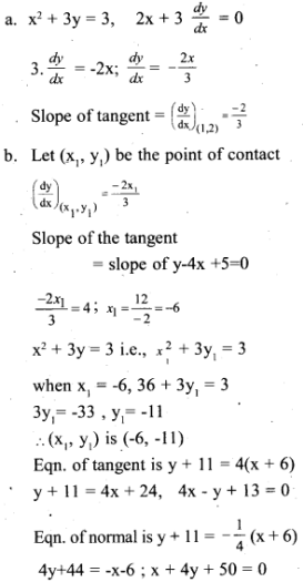 Plus Two Maths Chapter Wise Questions and Answers Chapter 6