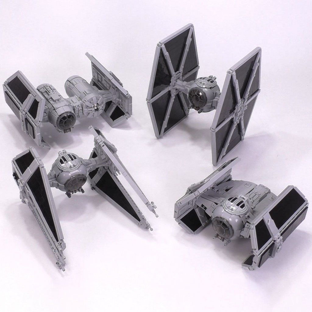 The Perfect Tie Collection Minifig Scale Star Wars Spaceships Lego Star Wars Sets Lego