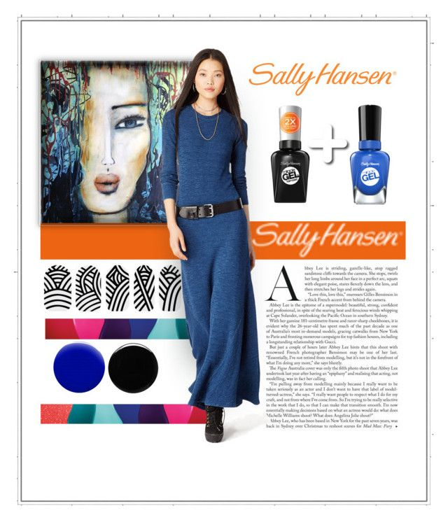 """""""No Light Gel: Nail It in 2 Steps with Sally Hansen® Miracle Gel™: Contest Entry"""" by patricia-dimmick on Polyvore featuring beauty, Sally Hansen, Deborah Lippmann and Jin Soon"""