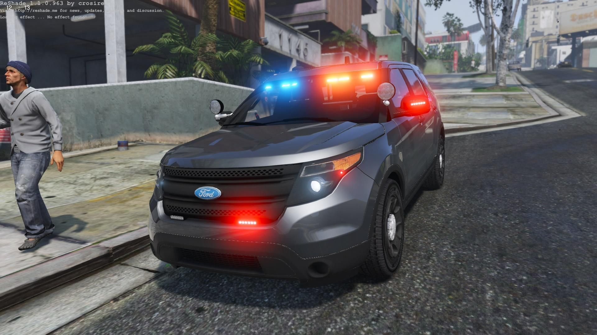 Gta5 Fpiu Lapd Ford Explorer Emergency Vehicles Police Cars