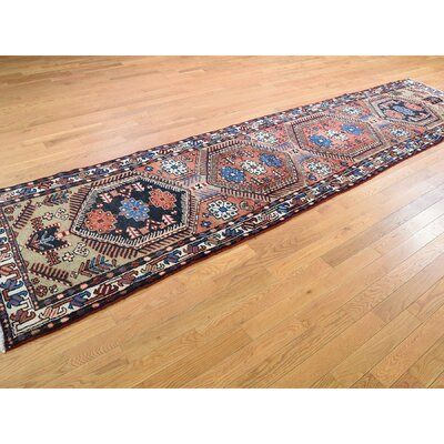 Bloomsbury Market One-of-a-Kind Deemer Vintage Persian Heriz Oriental Hand-Knotted 3'2