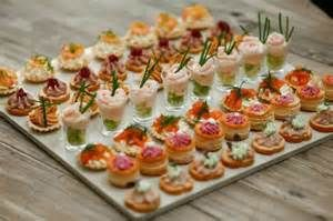 Gourmet Canapes - Bing images