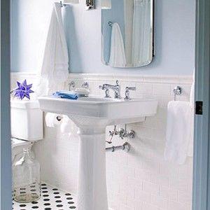 Kohler Bancroft Pedestal Sink Faucet And Towel Holder House