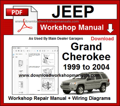 jeep grand cherokee 1999 to 2004 workshop manual  jeep