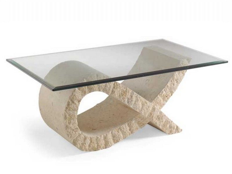 Delightful Stone Table Bases Glass Tables