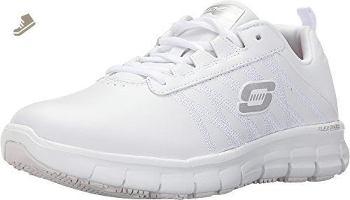 Skechers Work Relaxed Fit Sure Track Erath Sr Womens Sneakers