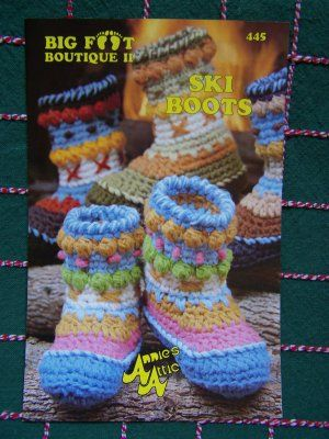 Free Crochet Boot Patterns For Adults Annies Crochet Pattern