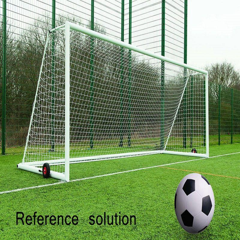 8 X 24 Ft Full Size Football Net For Soccer Goal Post Junior Sports Training Rain Resistant Weather Proof Football Net Adul Soccer Goal Soccer Soccer Goal Post