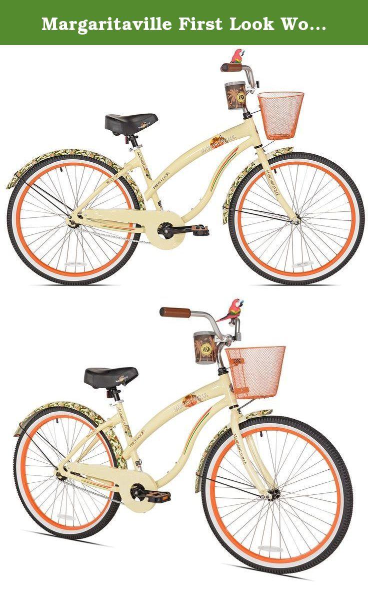 Margaritaville first look women s beach cruiser bike 26 inch the margaritaville first look