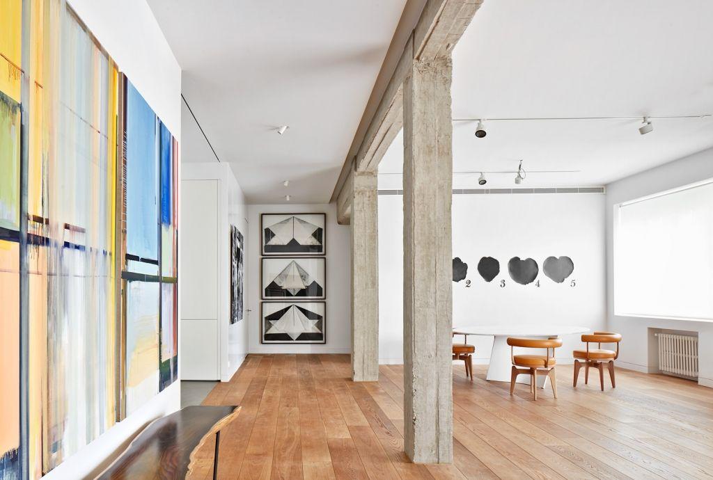 Een droomhuis voor de liefhebber van een modern interieur en kunst