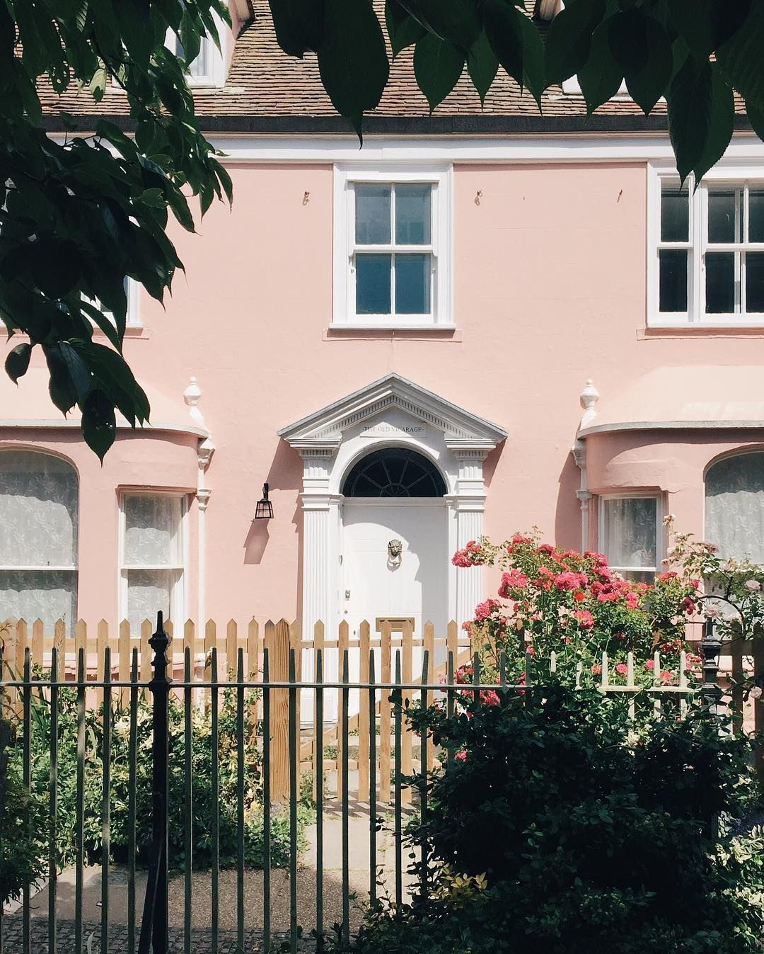 The Next Big Exterior Paint Color Might Just Be Pink In 2020