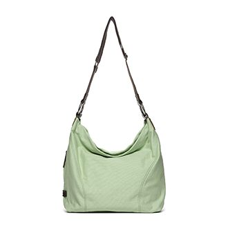 Sadie Light Weight Canvas Hobo Bag in Turquoise ...