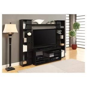 Watson Home Entertainment Center With Reversible Back Panels