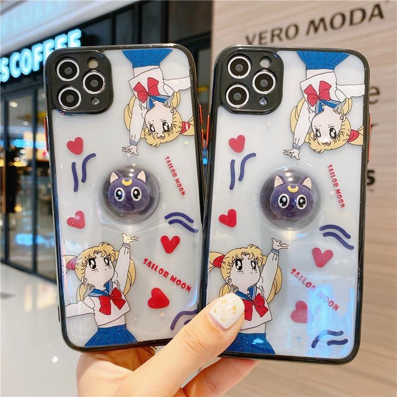 Cute luna phone case for iphone 77plus88pxxsxrxs