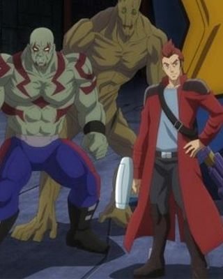 Meet the Anime Version of GUARDIANS OF THE GALAXY