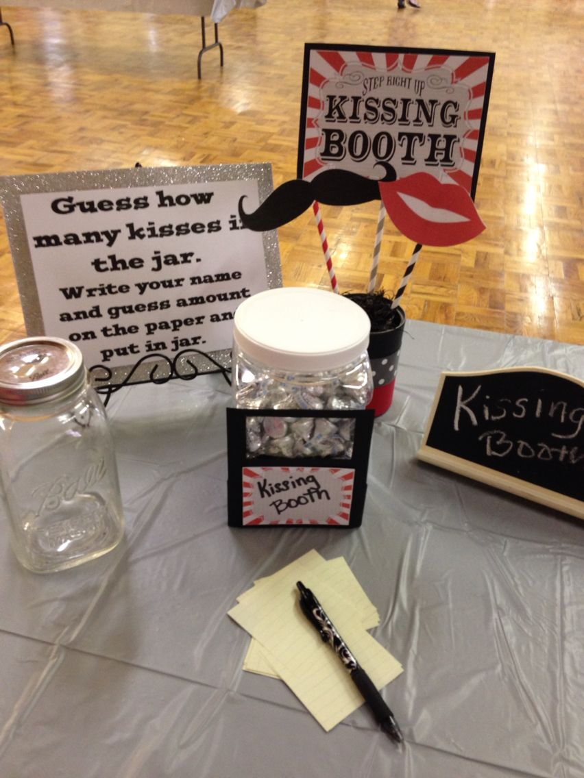 Shower game idea kissing booth Got printable
