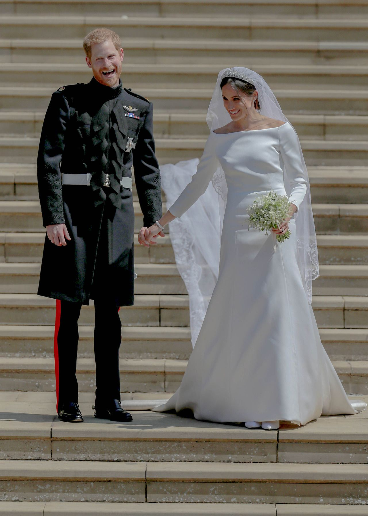 "56e3ea012375 meghanmarklesmafia  """"Newly weds"