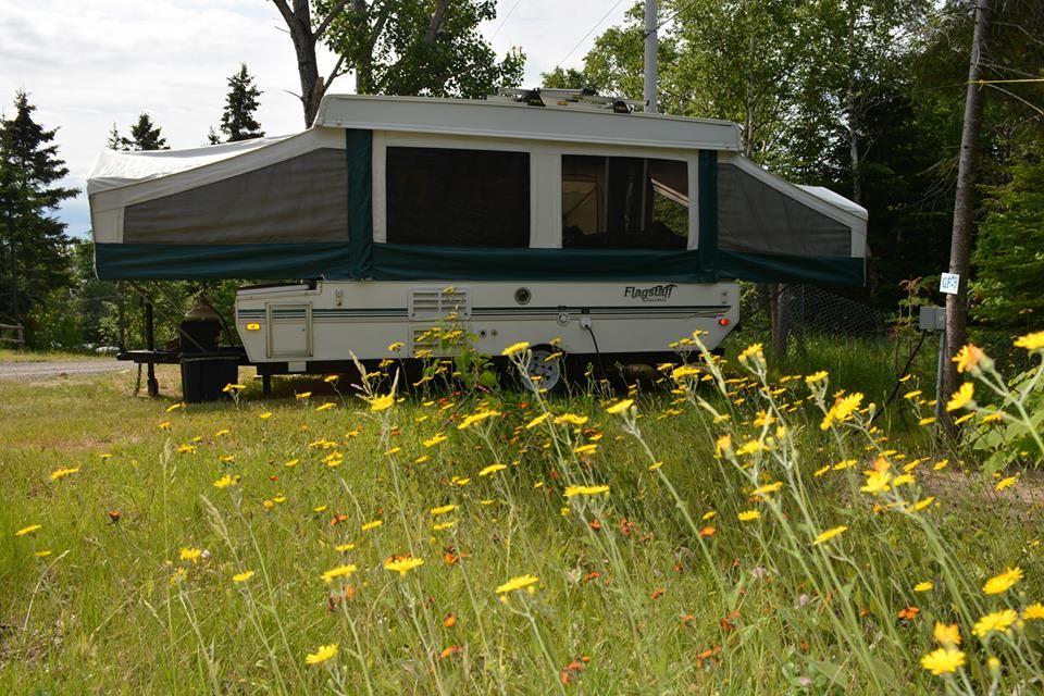 camping dans une tente roulotte, la joie !