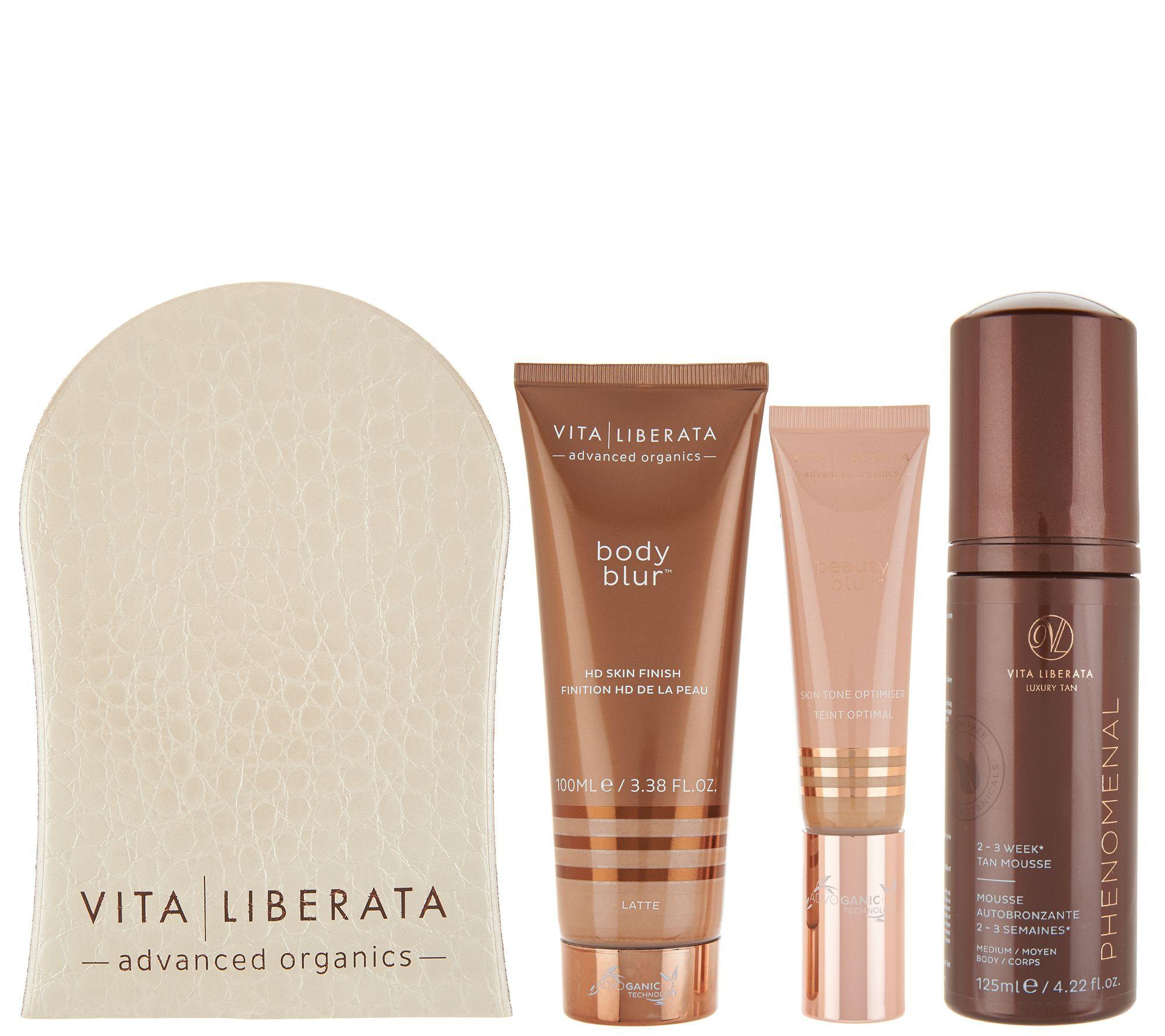 Vita Liberata Phenomenal Self Tan Face Body Kit Qvc Com Face