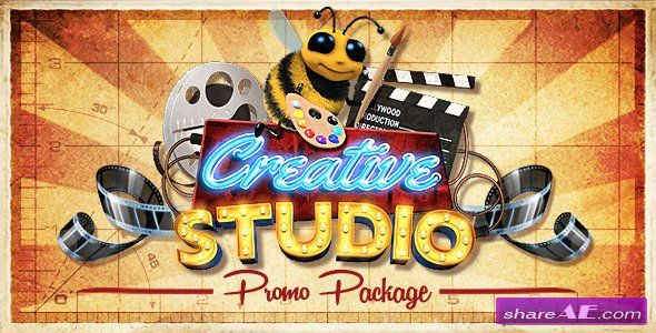 Videohive Creative Studio Promo Package - After Effects