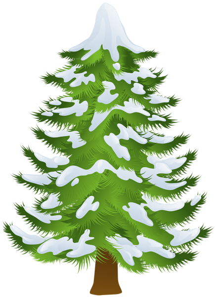 Snow Trees Clipart In 2020 Christmas Tree Pictures Clip Art Homemade Christmas Decorations
