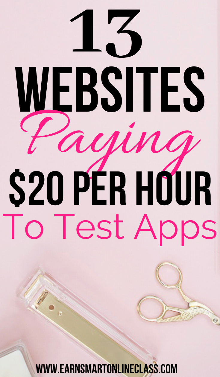 13 Companies With Website Testing Jobs Online Surveys For Money