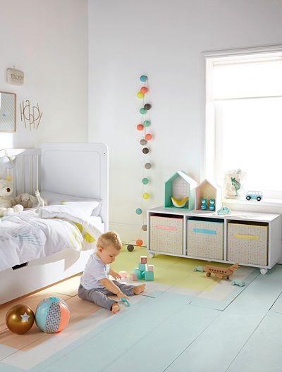 Bunte Leuchtgirlande fürs Kinderzimmer MEHRFARBIG Kinderzimmer - bunte kinderzimmermobel ideen