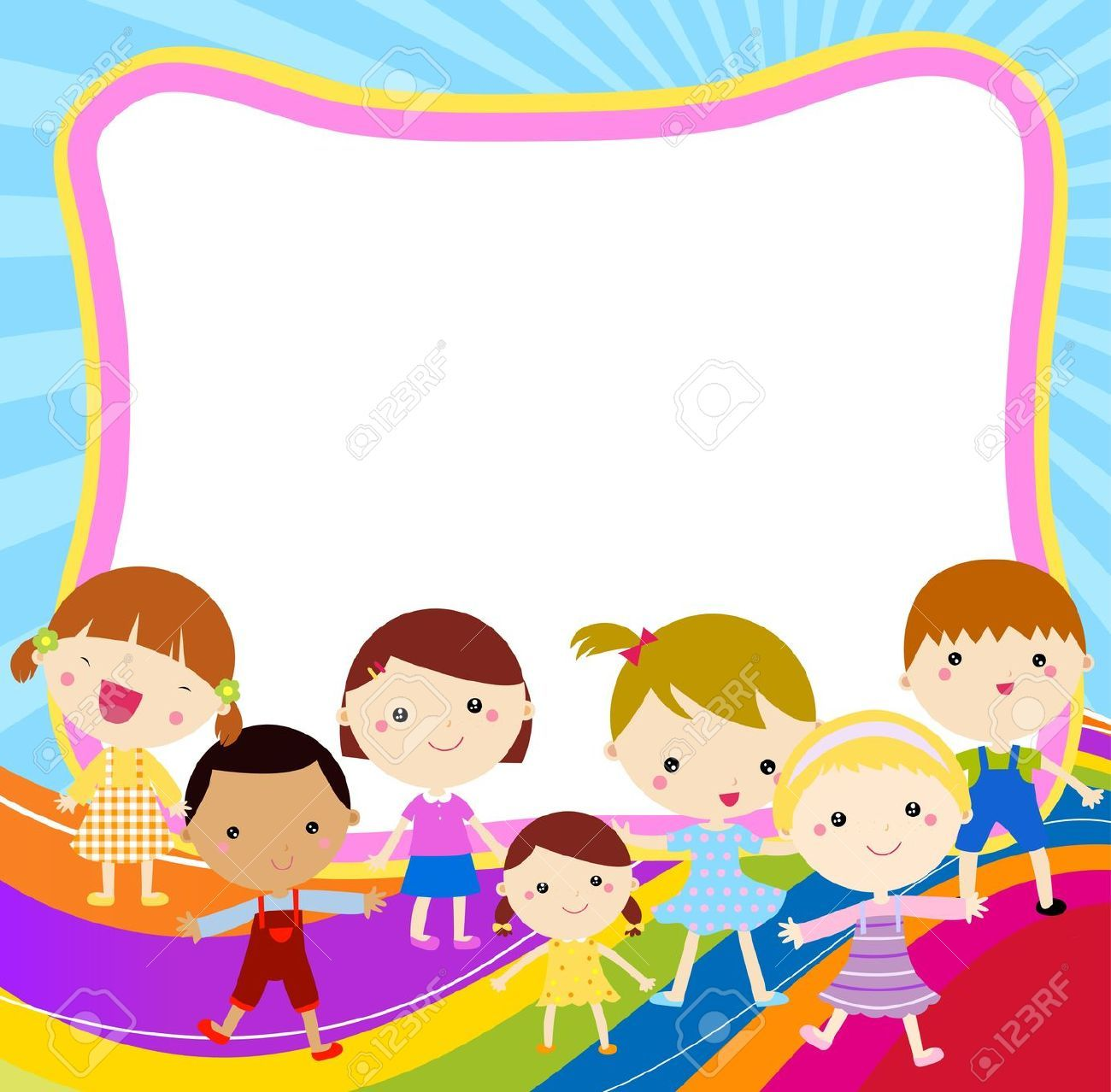 Frame clipart friendship Borders and frames, School