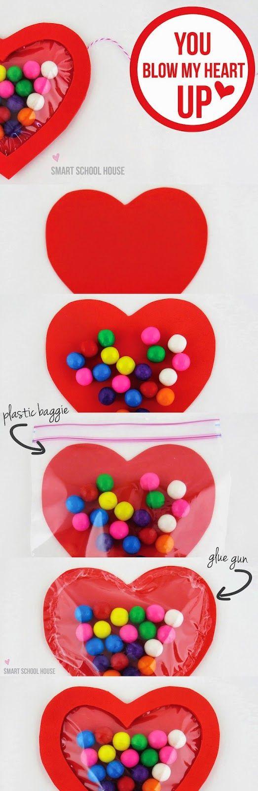 8 ideas DIY muy fáciles para San Valentín   Tarjetas de san valentín para  niños, Bricolaje del día de san valentín, Artesanía de san valentín